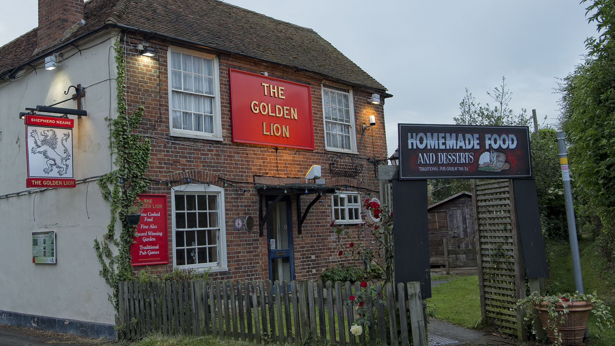 The Golden Lion Canterbury